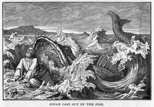 Public Domain Bible Image Free Jonah and the Big Fish